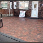 Barlow landscaping & paving Liverpool, pavement block paved driveway, house