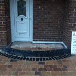 Block Paving Job Front Knowsley