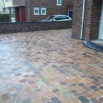 Block Paving Job Front Knowsley2