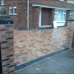 Block Paving Job Front Knowsley3