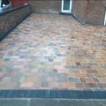 Block Paving Job Front Knowsley4