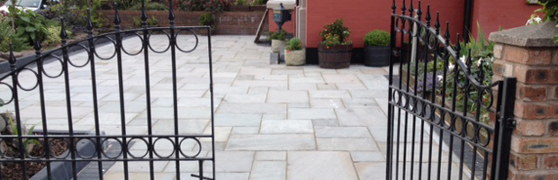 Image is an example of one of our recent driveways in Liverpool