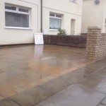 Completed paving in Liverpool | Barlow Landscaping